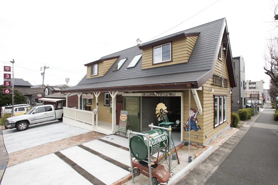 アメリカンな開放感あふれるゆったりとしたスローライフを実現できる家の画像1